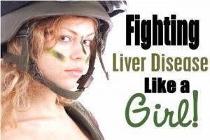 Combat Girl Liver Disease