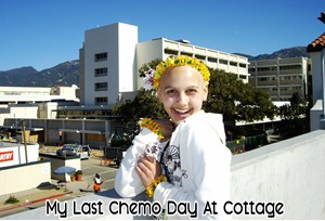 My Last Chemo Day at Cottage