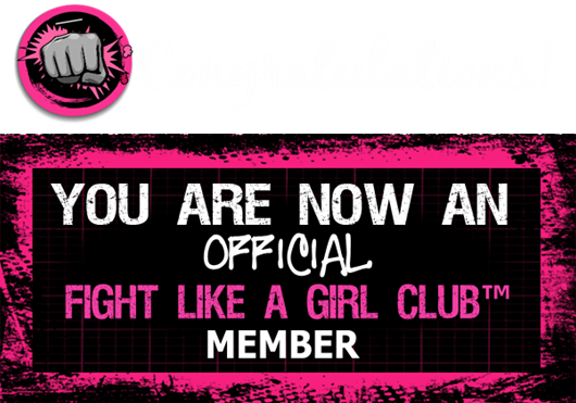 Fight Like a Girl Member