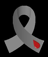 Grey Diabetes Ribbon