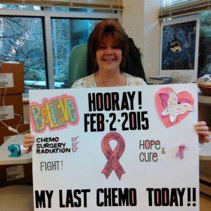 Melinda Final Chemo
