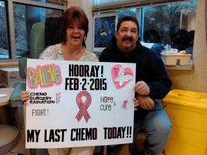 Melinda Final Chemo Husband