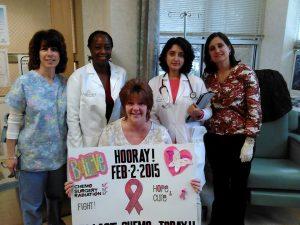 Melinda Final Chemo Nurses