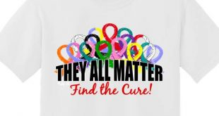 They All Matter T-Shirt Cancer Awareness