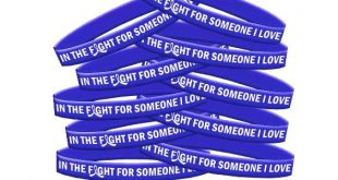 In The Fight Wristbands Blue