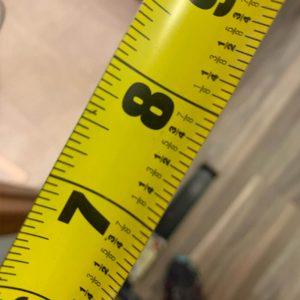 life lessons from the handy girl - measure up