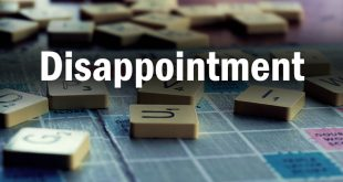 Life Lessons: Disappointment